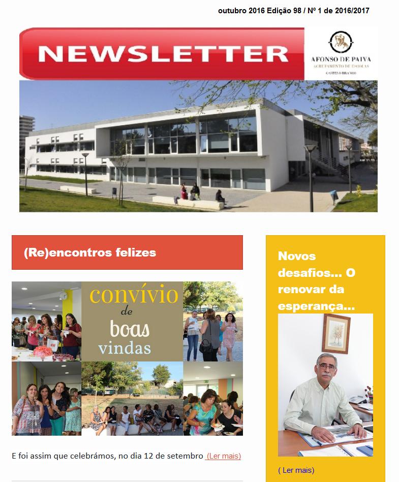 Newsletter Afonso de Paiva