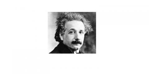 fotografia de Albert Einstein