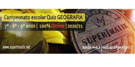 campeonato escolar SUPERTMATIK Quiz Geografia