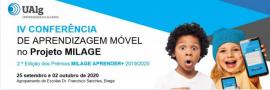 Conferência sobre aprendizagem móvel com a app MILAGE