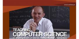 """conferência """"Ensinar Ciências da Computação"""""""